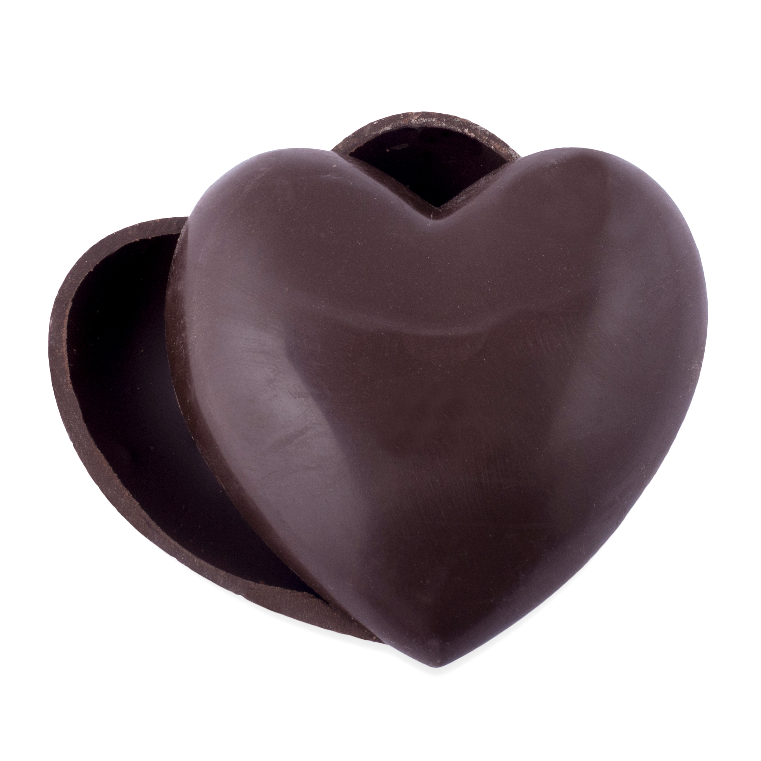 Chocolate Truffles In Heart Box